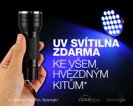 UV kapesní LED svítilna neboli baterka s 21 diodami zdarma