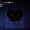 Svitici hvezdna mapa zivotniho okamziku ilustrovana k narozeni ditete kluk noc